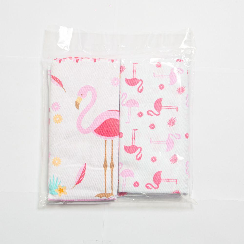 Cueiro Flamingo Com 3 Unidades - Minasrey