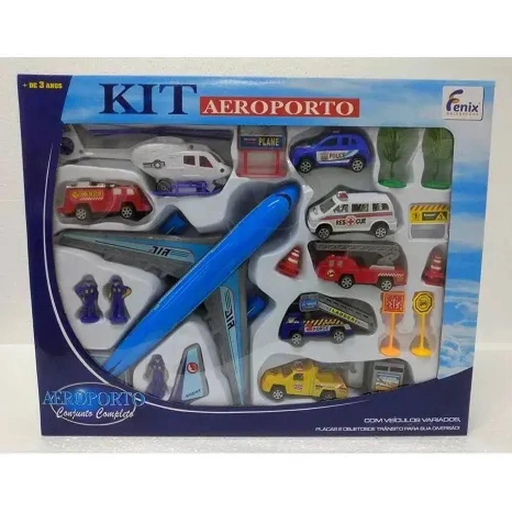 Kit Aeroporto Completo - Fenix helicóptero