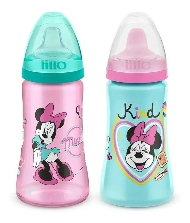 Kit Com 2 Copos  Minnie Mouse 300 ML- Lillo