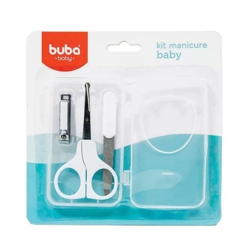 Kit Manicure Bebê Branco - Buba