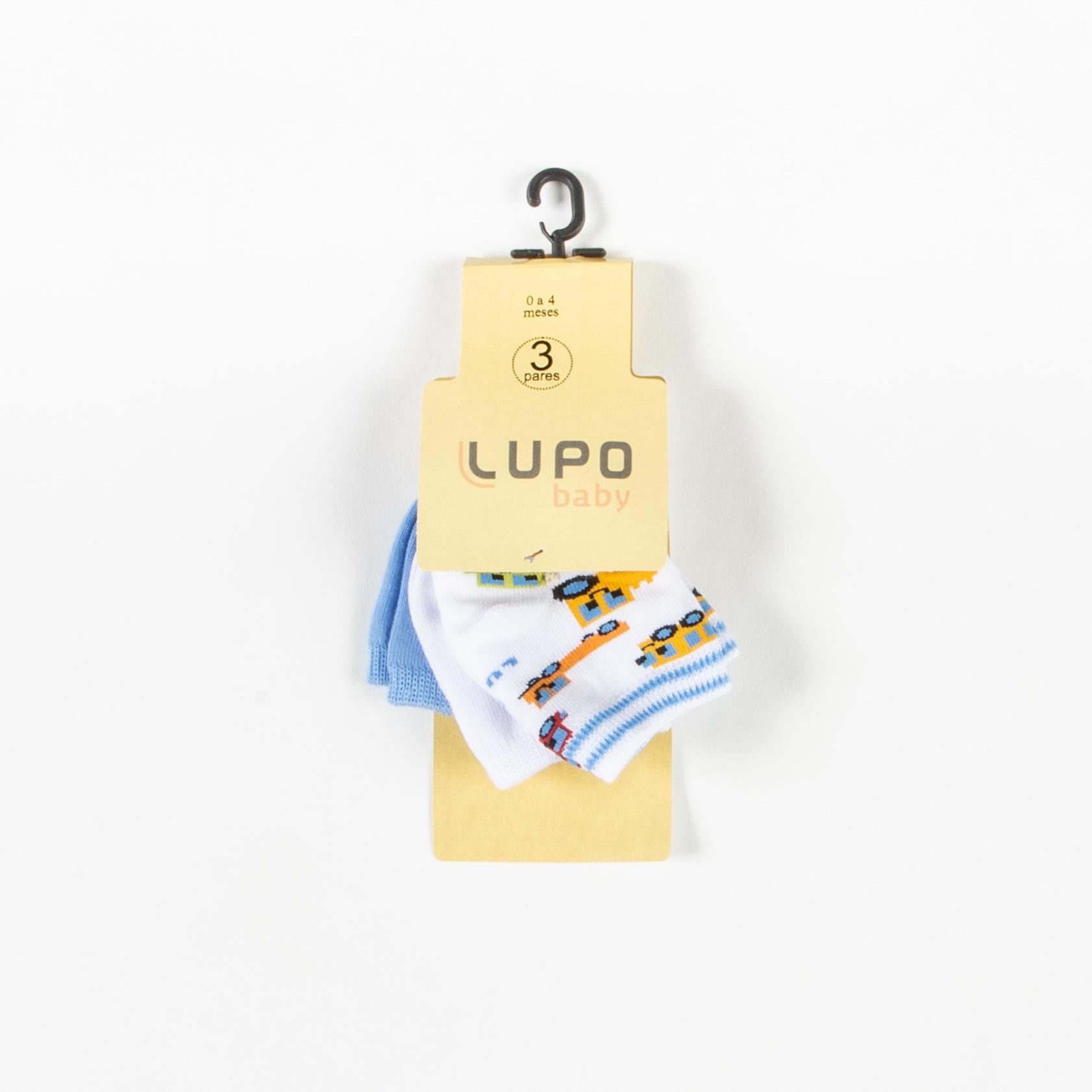 Kit Meia De Bebê -Lupo