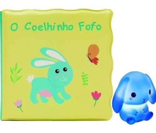 Livrinho De Banho Para Bebê O Coelhinho Fofo - Buba