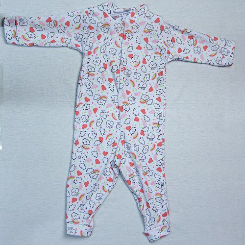 Macacão De Bebê Estampado Luizinho Baby