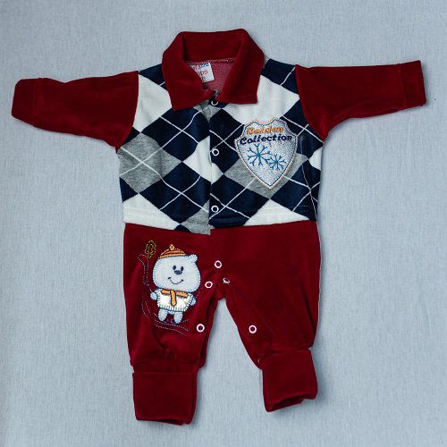 Macacão De Bebê Luxo Luizinho Baby