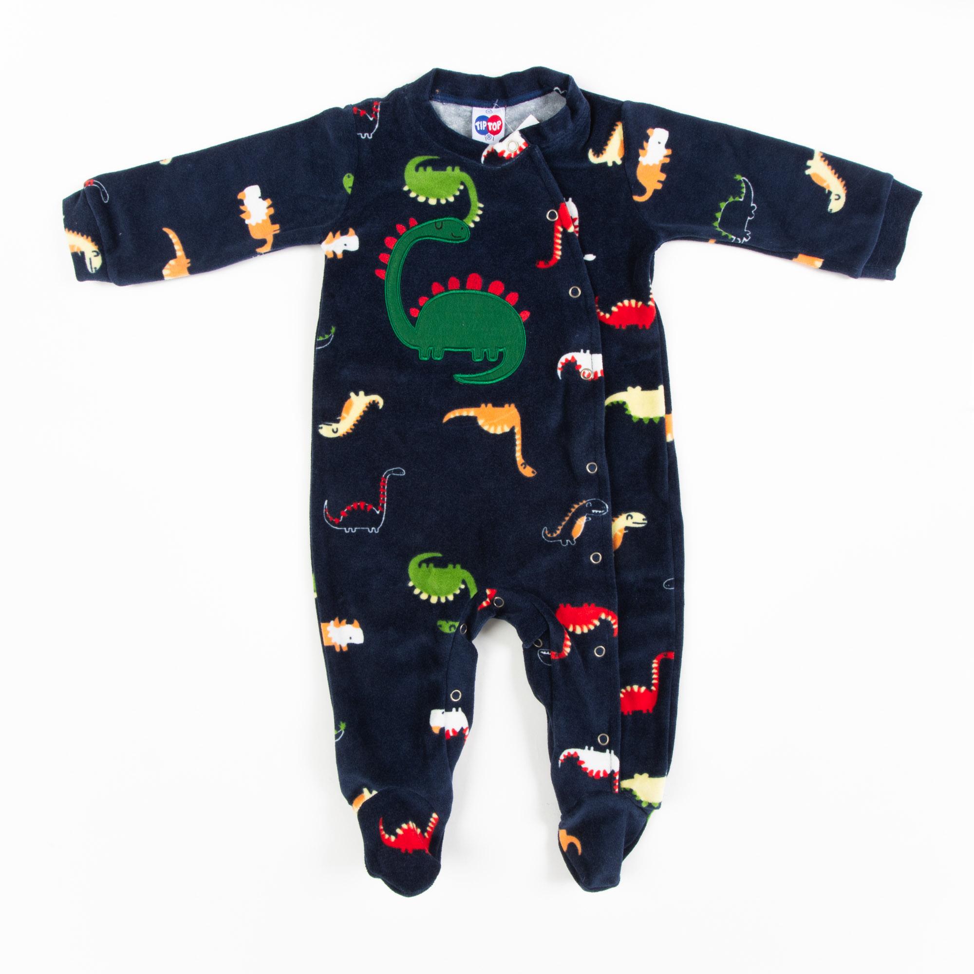 Macacão Dino Plush Bebê -Tip Top