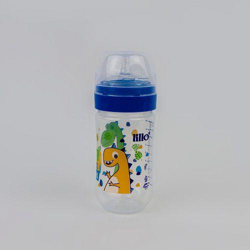 Mamadeira Estampada Dino 300 ML Azul Lillo