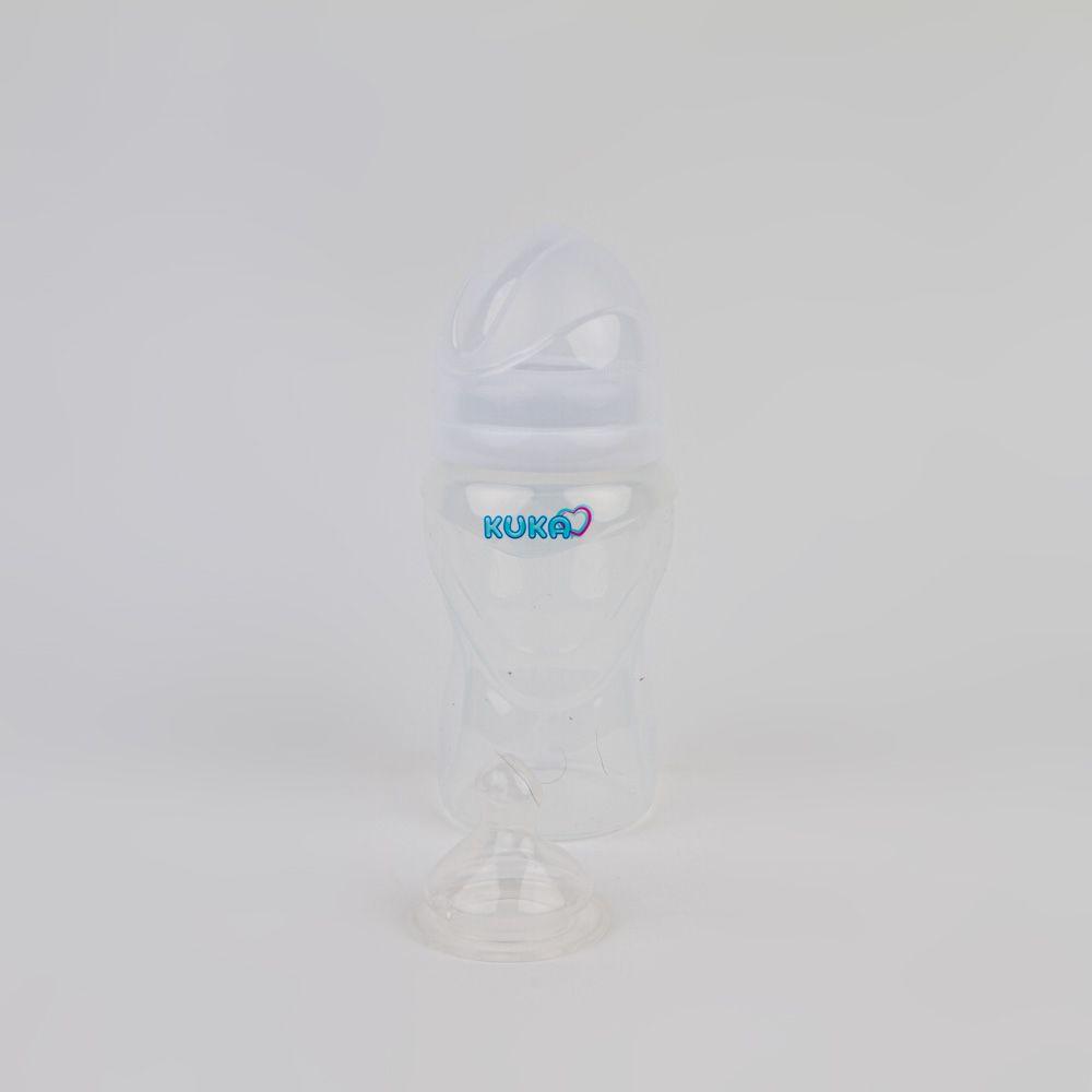 Mamadeira Silicone De Bebê 250 ML Kuka