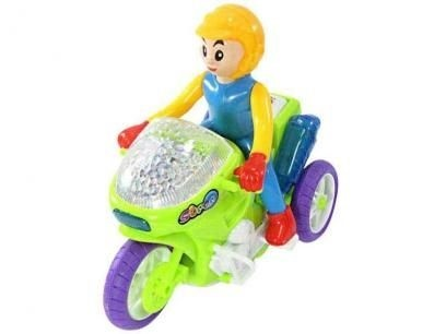 Motocicleta Luz Mágica