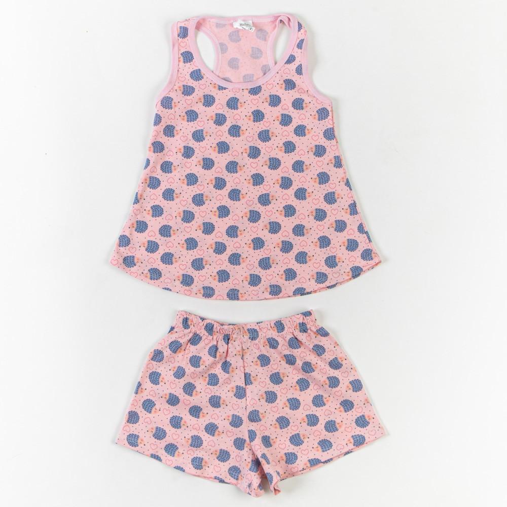 Pijama Infantil De Malha Estampado 4/8 - Mafessoni