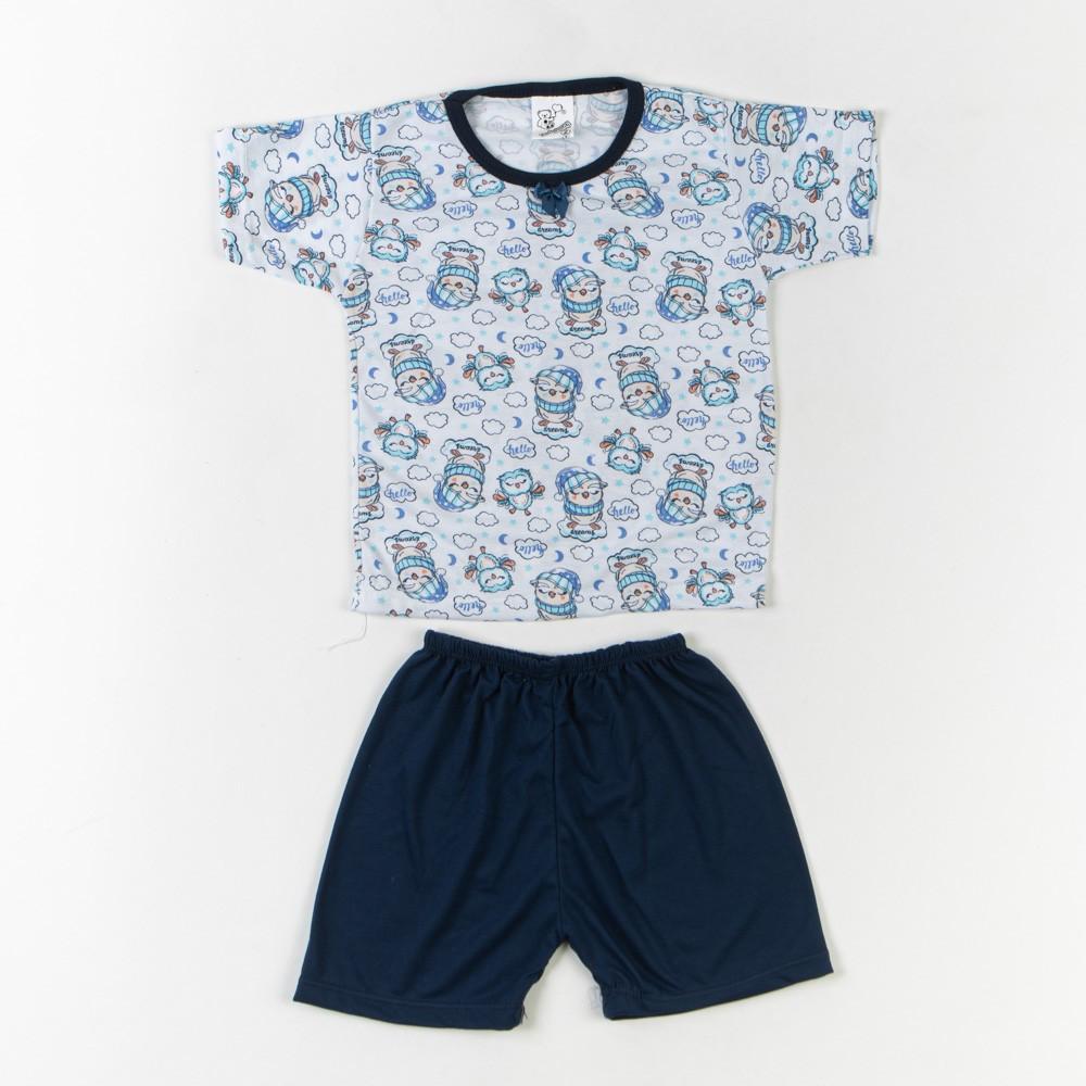 Pijama Infantil Malha Verão 4/6 - Mafessoni