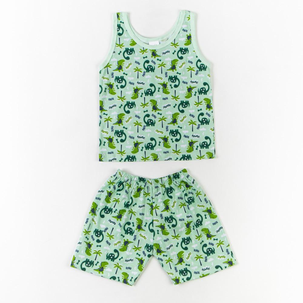 Pijama Infantil Regata Estampado 4/6 - Mafessoni