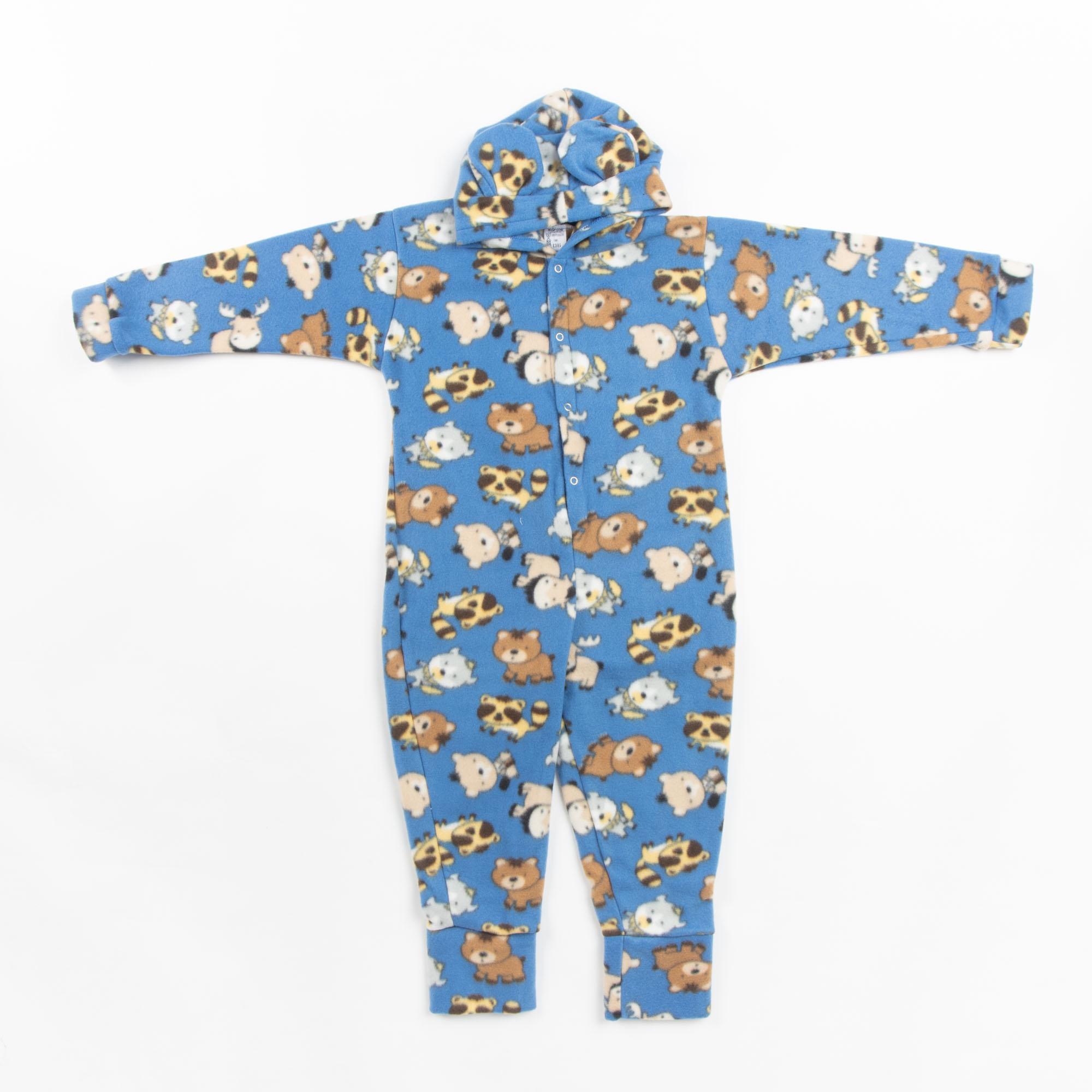 Pijama Macacão Infantil Em Soft