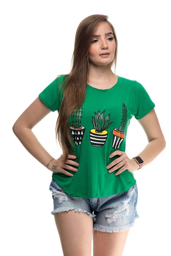 t shirt cactus verde
