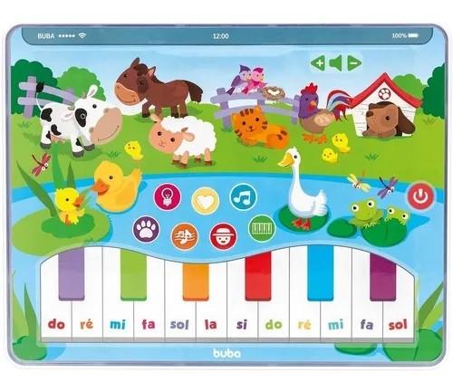 Tablet Musical Cantar Com Os Animais - Buba
