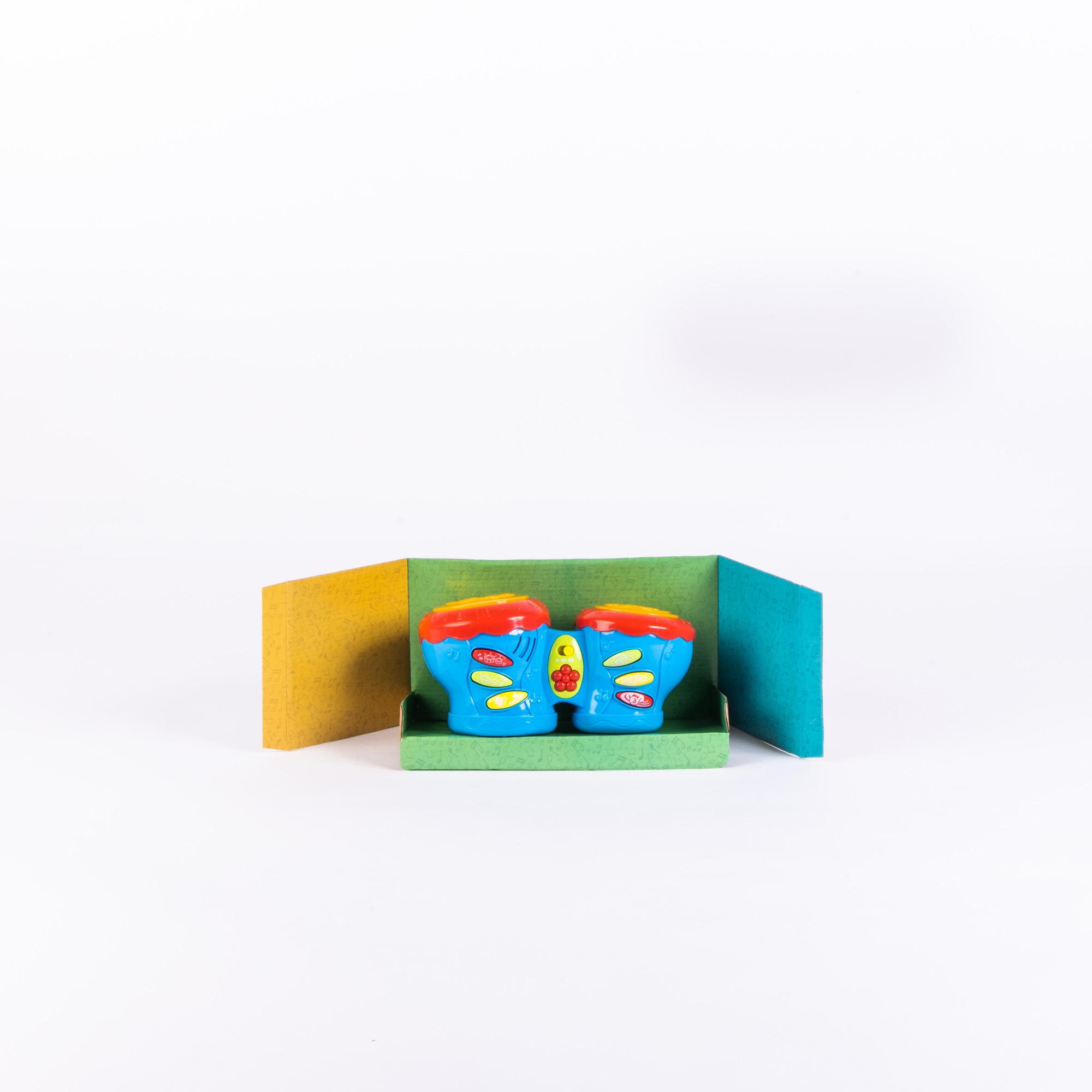 Tambor Duplo Brinquedo Mundo Mágico