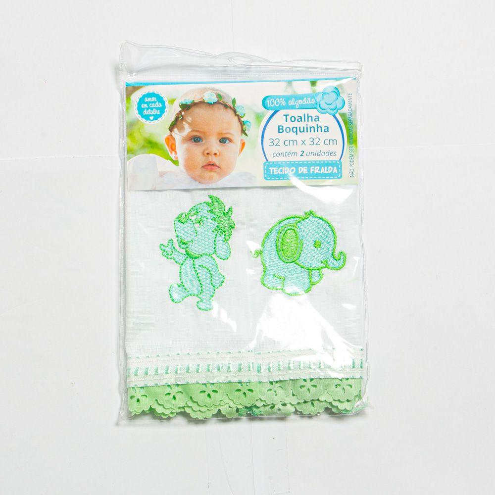 Toalha Boquinha Para Bebê Tecido De Fralda - Minasrey