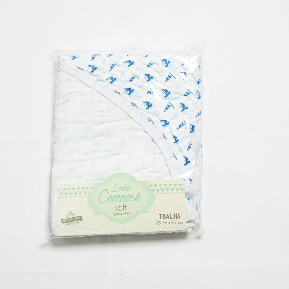 Toalha De Banho Soft Menino - Minasrey