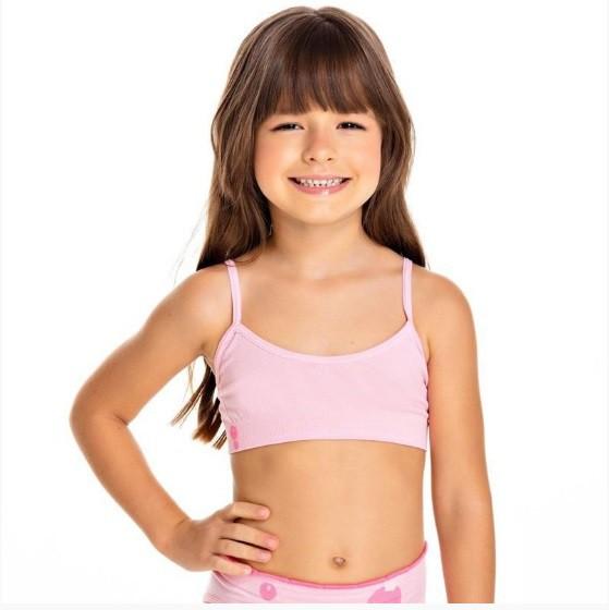 Top Menina Infantil Sem Costura