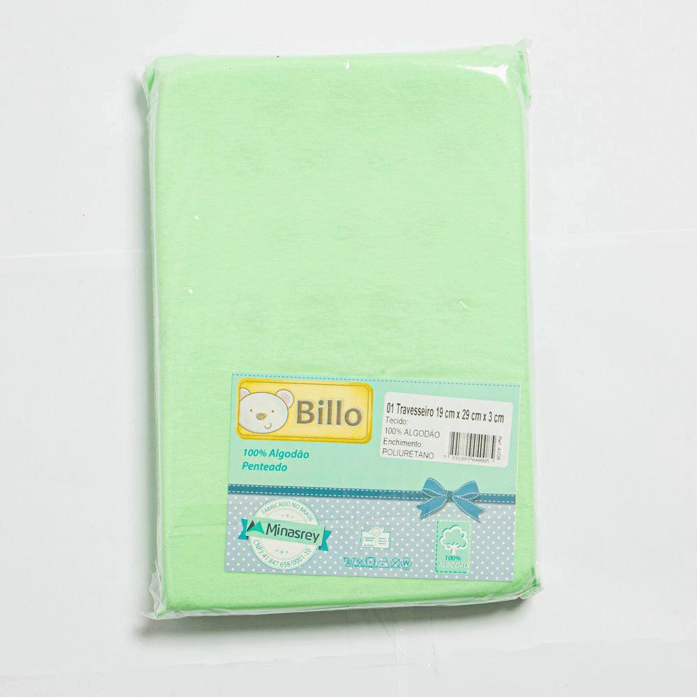 Travesseiro Para Bebê Básico Liso - Minasrey