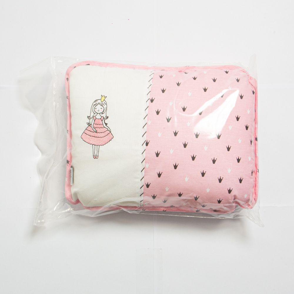 Travesseiro Para Bebê Bordado e Estampado - Minasrey