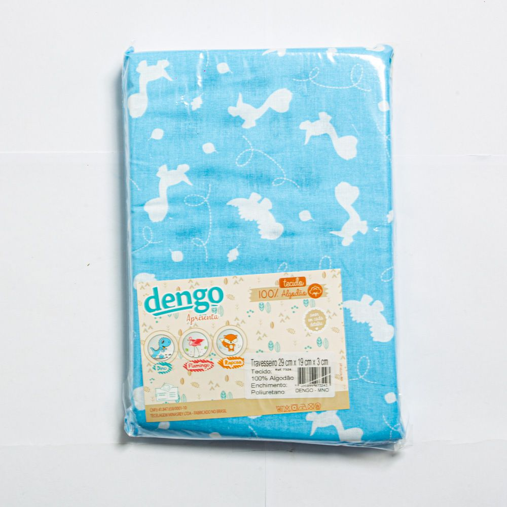 Travesseiro Para Bebê Estampa Dino - Minasrey