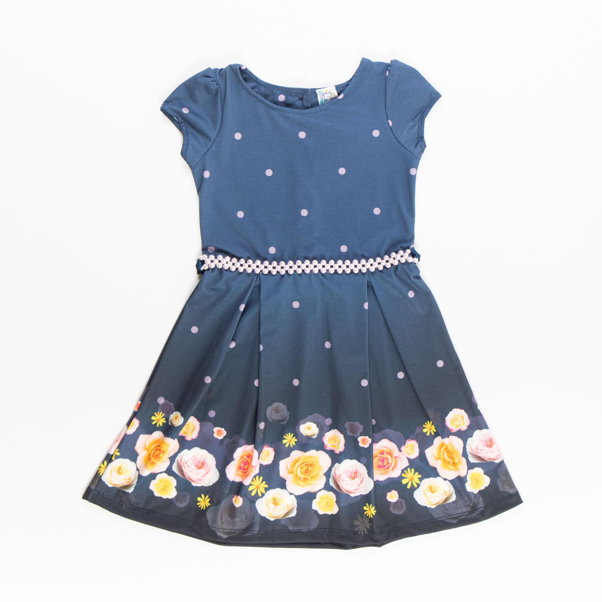 Vestido Com Tule De Festa Infantil