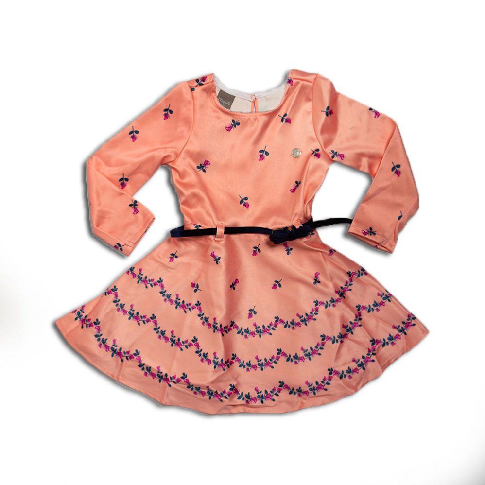 Vestido Infantil Menina Luxo - Mundi