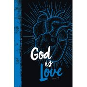 Bíblia NVT God is Love 2.0 Blue Letra Grande