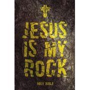 Bíblia NVT Jesus is My Rock