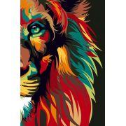 Bíblia NVT Lion Colors Nature Letra Grande