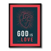 Pôster - God Is Love