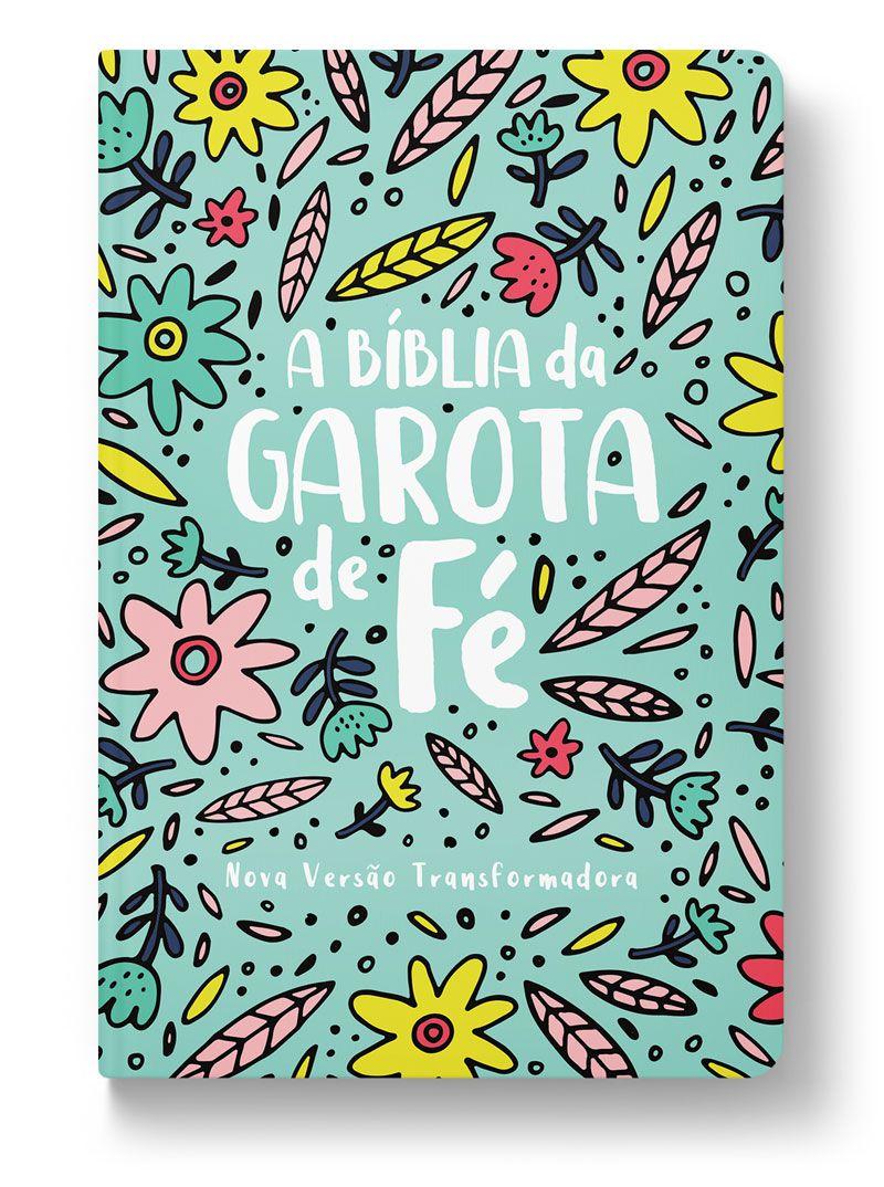 A Bíblia da Garota de Fé (NVT) - Jardim  - Sankto | Crer para entender