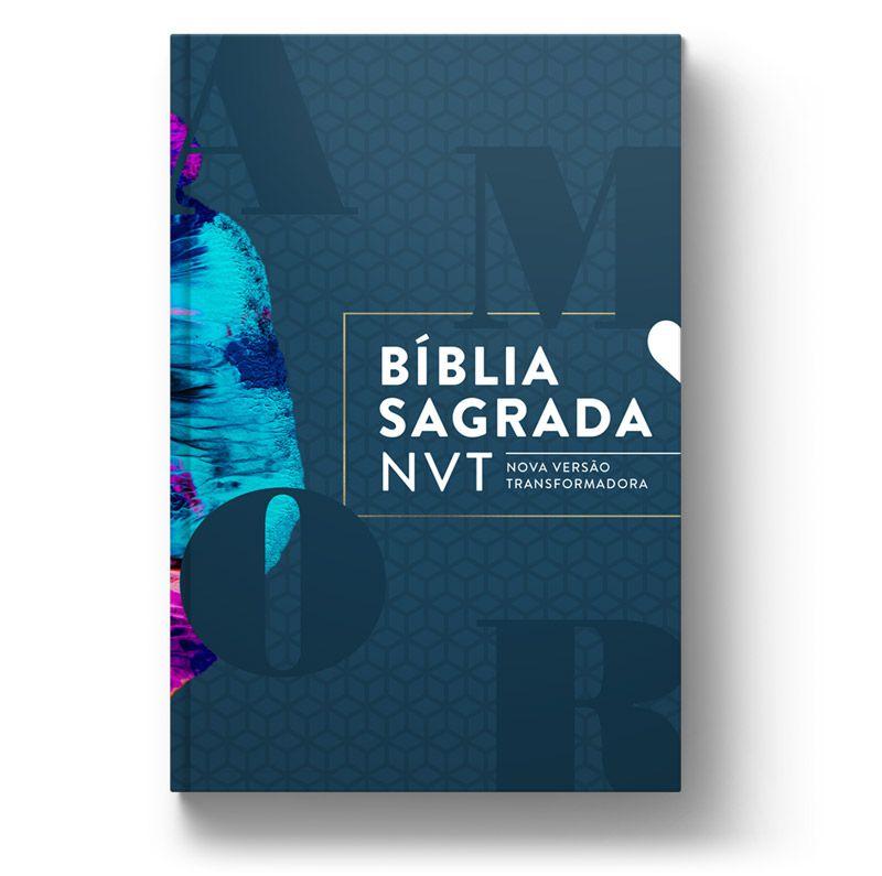 Bíblia NVT Amor perfeito (Ele)  - Sankto | Crer para entender