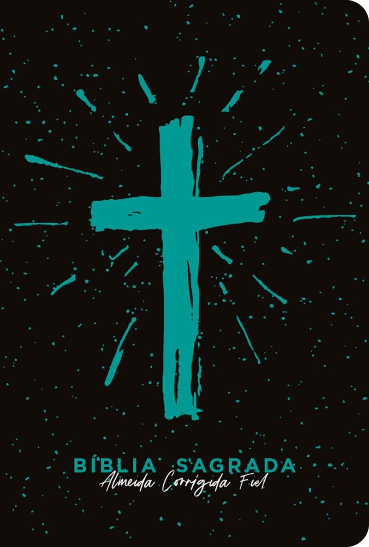 Bíblia ACF Cruz Tiffany - Letra Grande (R&MC)