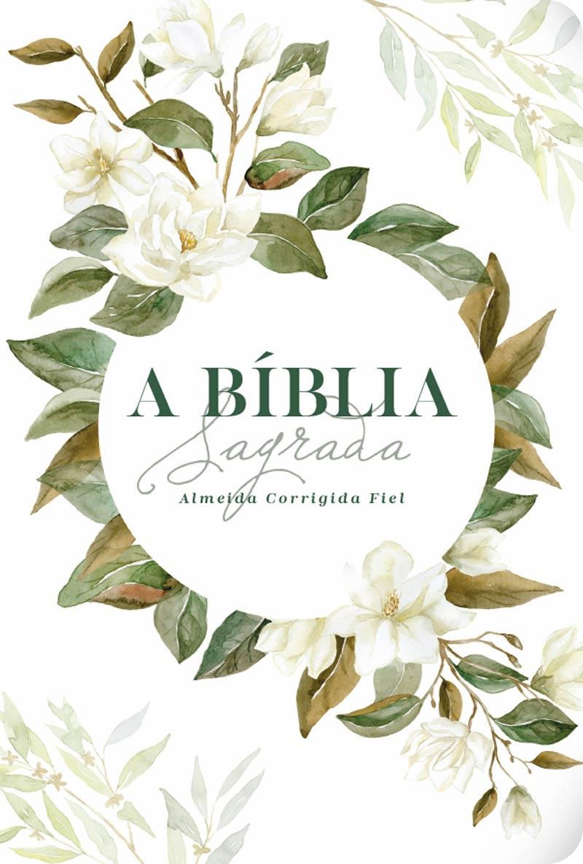 Bíblia ACF Magnólia Branca - Letra Grande (R&MC)