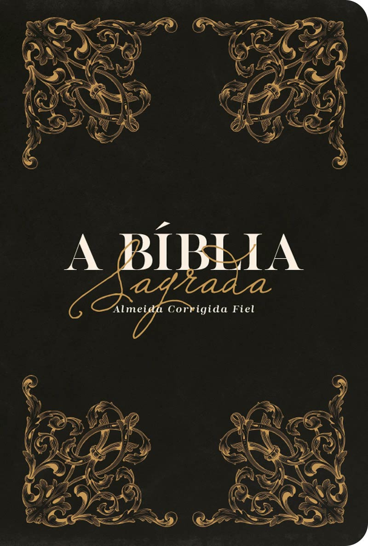 Bíblia ACF Ornamentos - Letra Grande (R&MC)