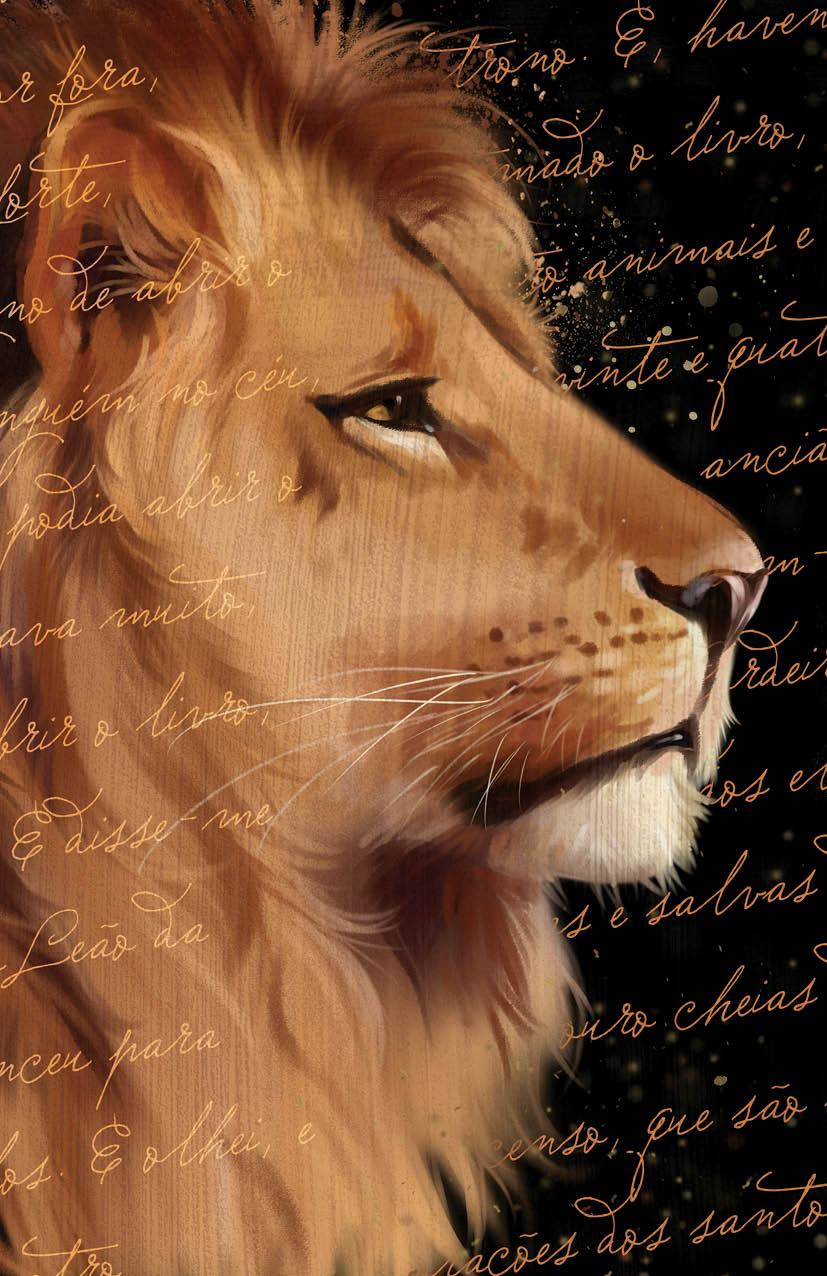 Bíblia ARC Leão de Judá - Letra Gigante com Harpa Avivada e Corinhos