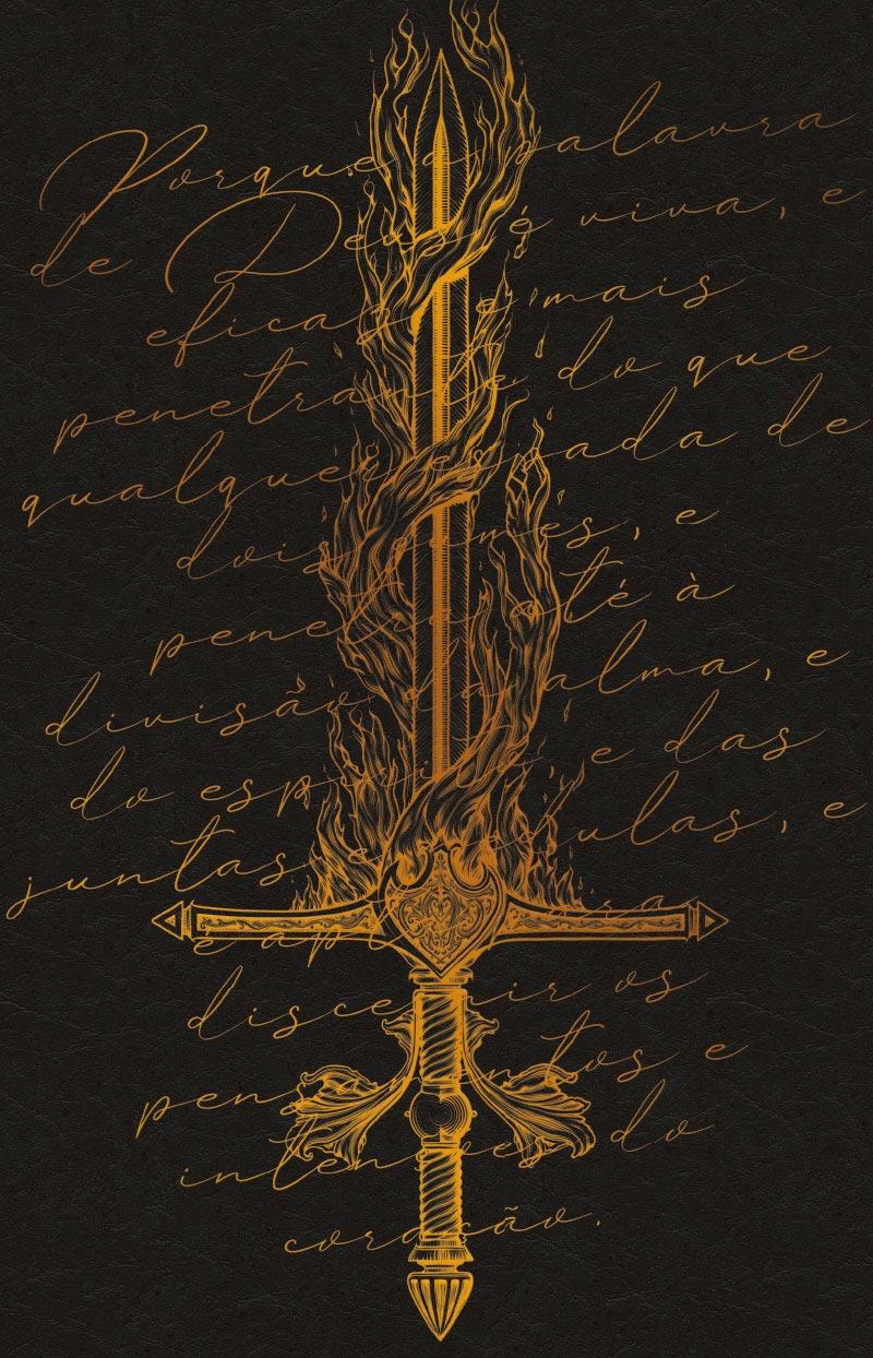 Bíblia ARC Espada de Fogo - Letra Normal
