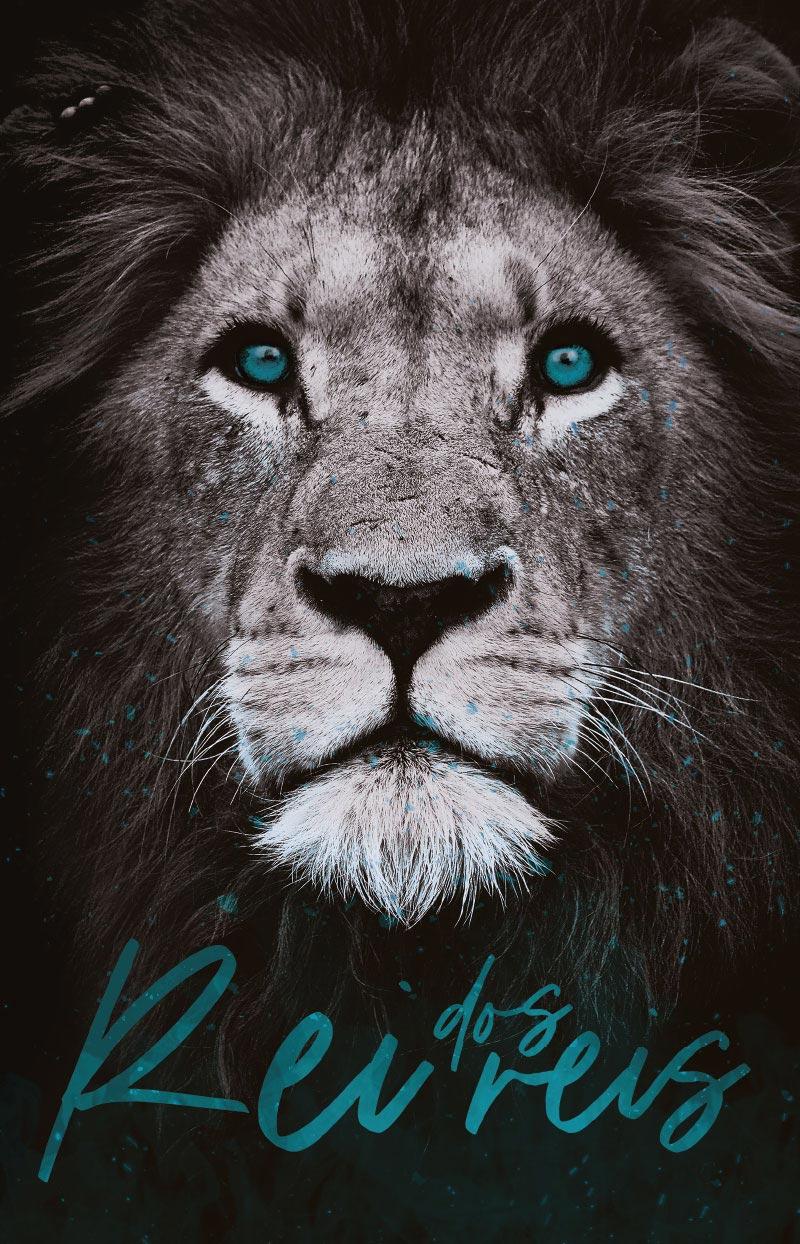 Bíblia ARC Leão Rei dos Reis - Letra Normal