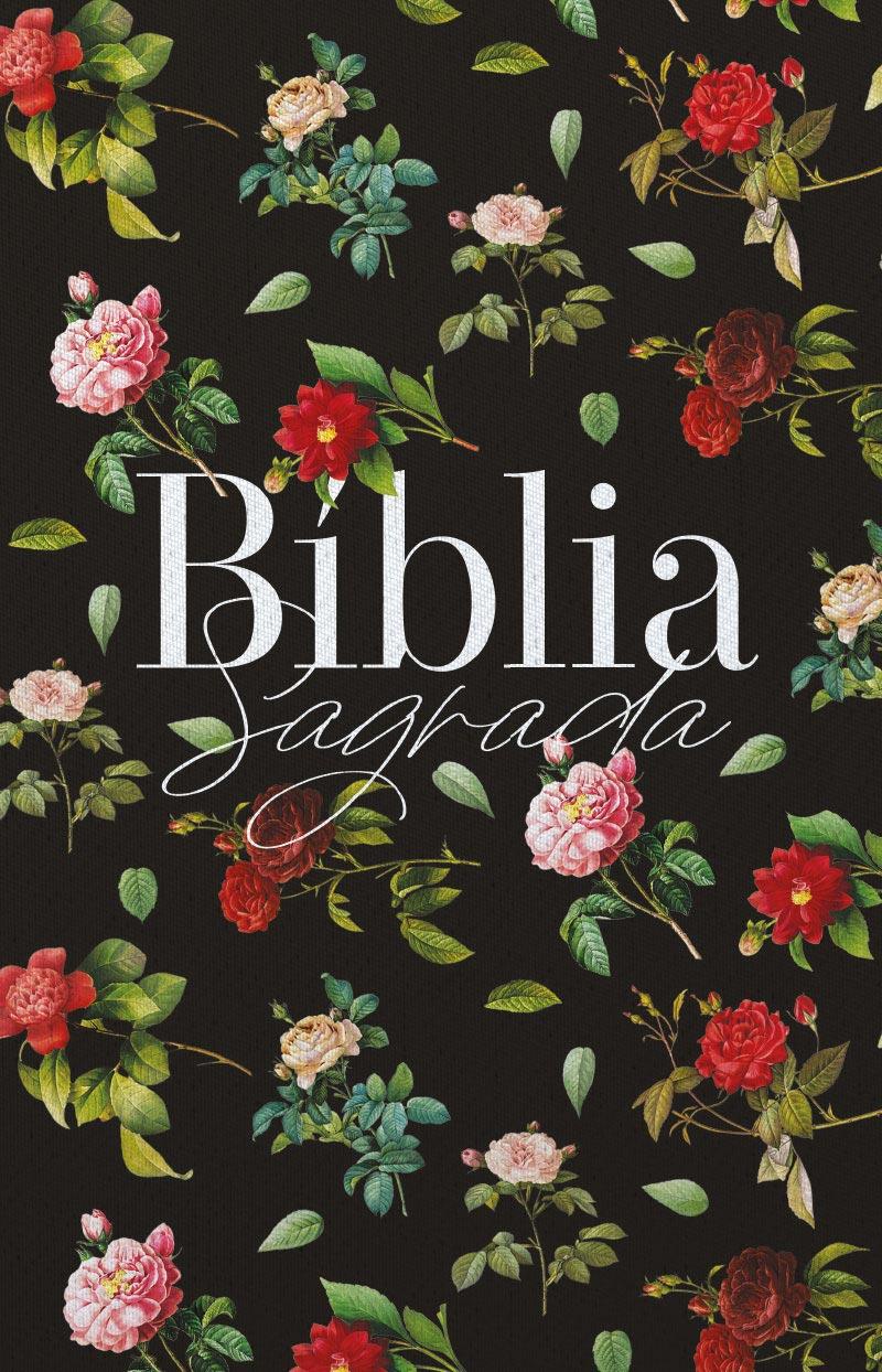 Bíblia ARC Rosas do Campo - Letra Normal
