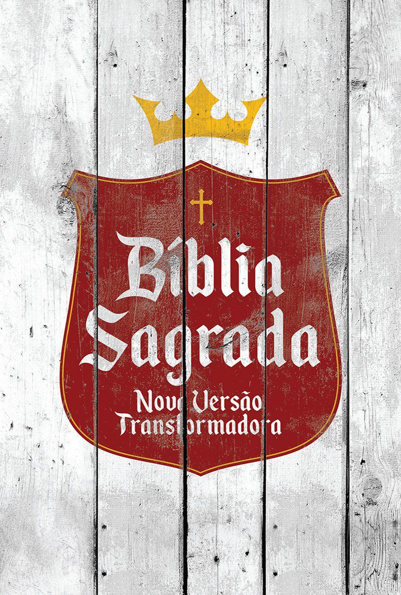 Bíblia NVT Brasão Branco