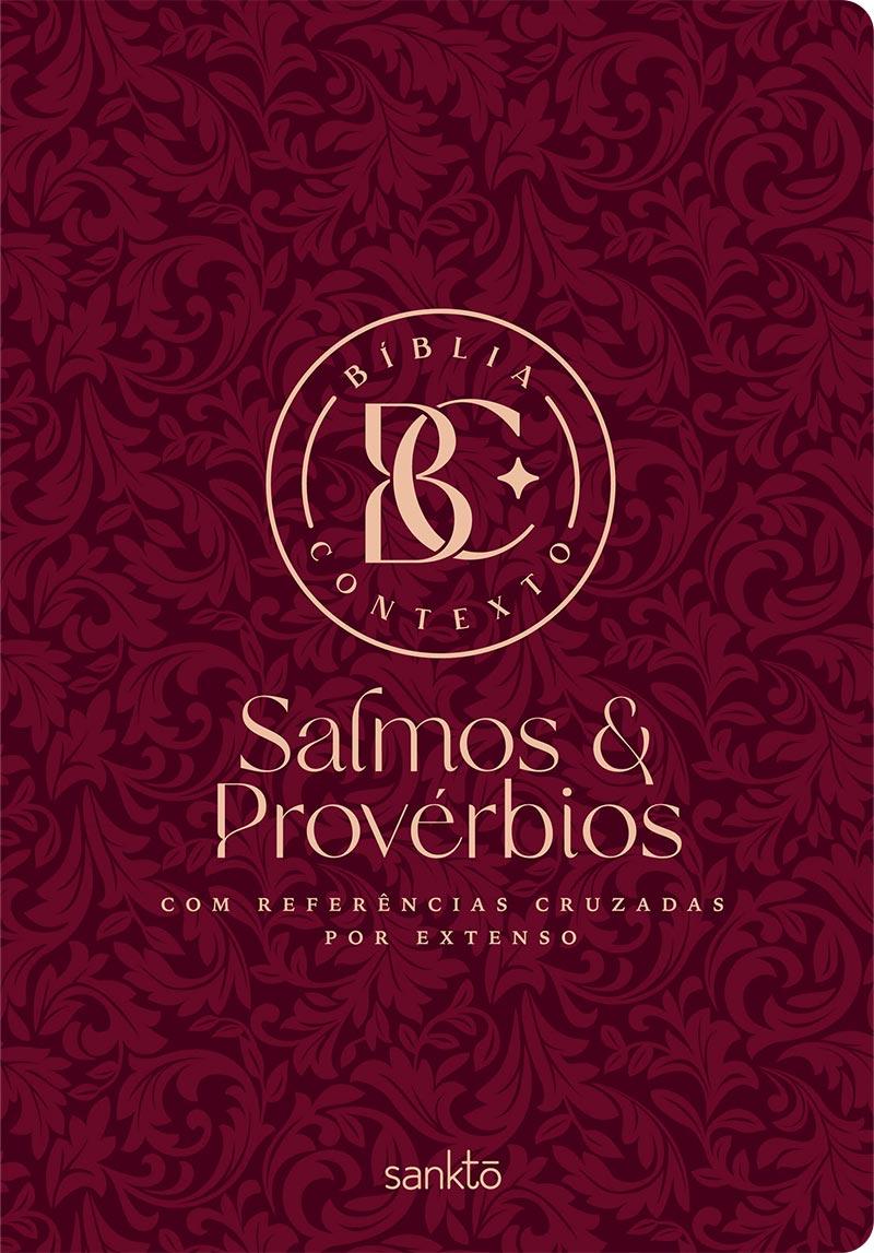 Bíblia Contexto Salmos e Provérbios - Vinho