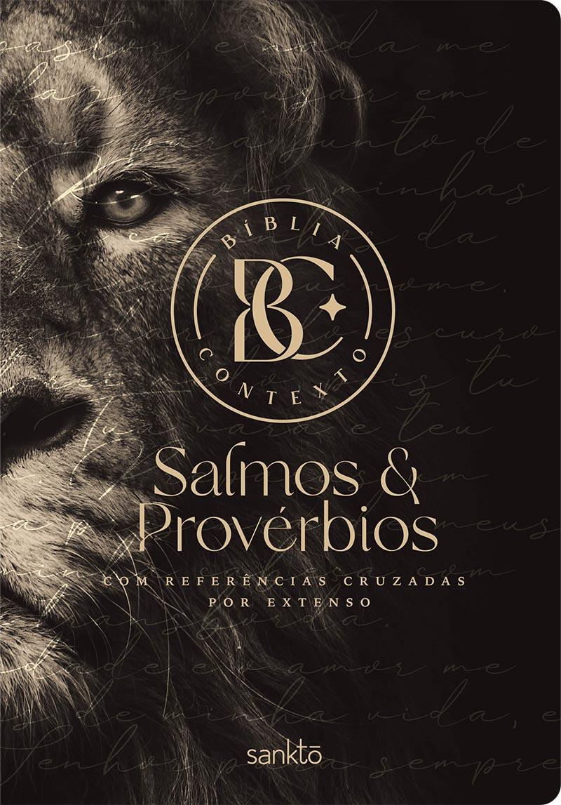 Bíblia Contexto Salmos e Provérbios - Leão