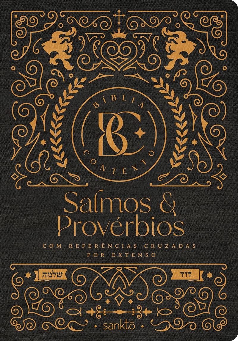 Bíblia Contexto Salmos e Provérbios - Ornamentos