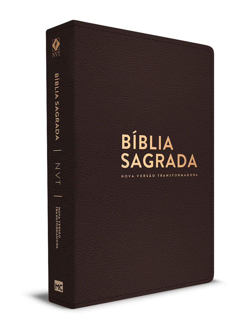 Bíblia de Estudo NVT (Preta) + GRÁTIS: Bíblia NVT Luxo (Marrom - Letra Normal)  - Sankto | Crer para entender