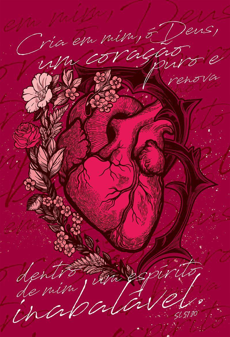 Bíblia NAA Coração puro