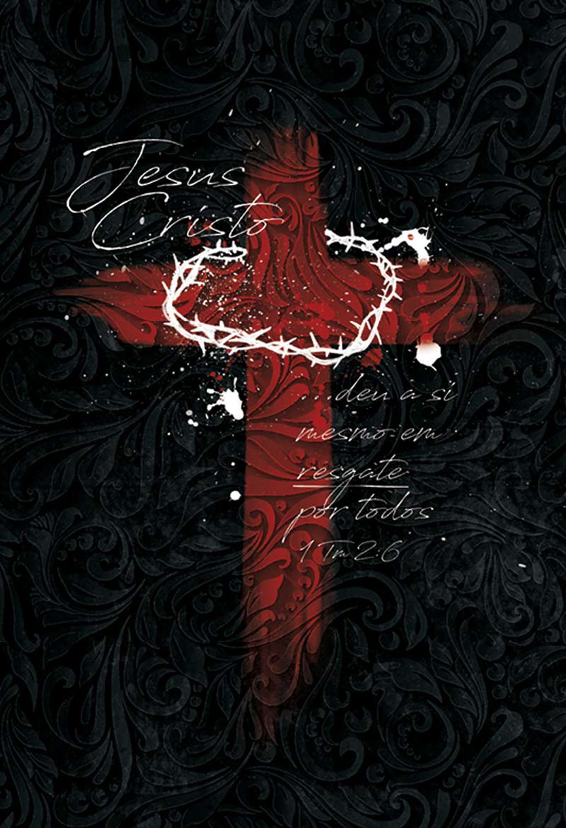 Bíblia NAA Cruz de Cristo preta