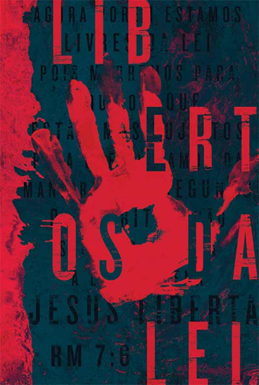 Bíblia NAA Libertos da lei (vermelha)