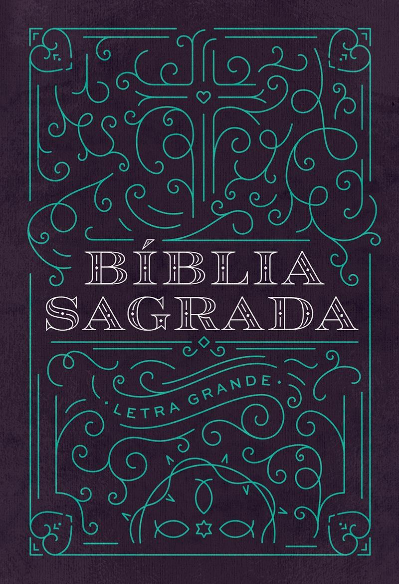 Bíblia NAA Ornamentos - Letra Grande