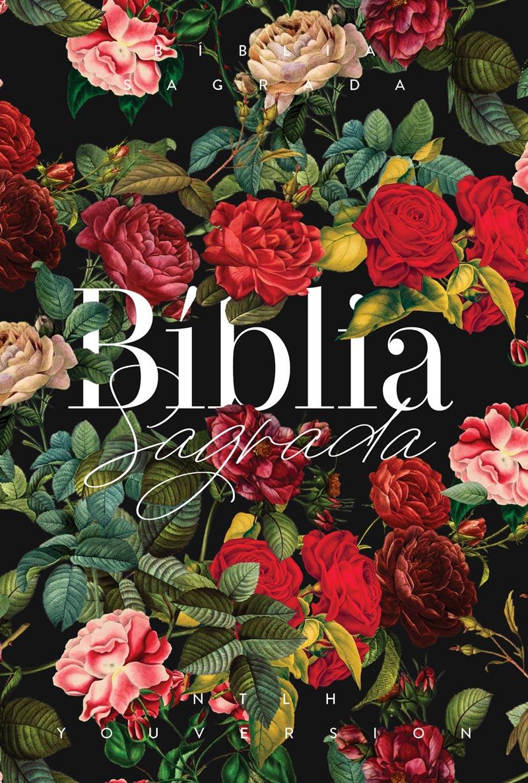 Bíblia NTLH YouVersion Buquê de Rosas - Letra Normal